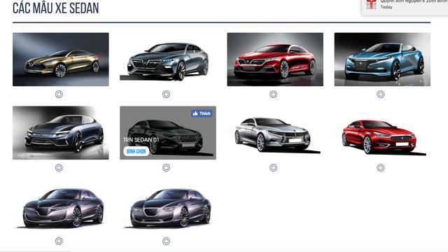 Ngắm nhìn 20 mẫu ô tô mà VinFast tung ra để khách hàng Việt có thể bình chọn chiếc thích nhất - Ảnh 2.