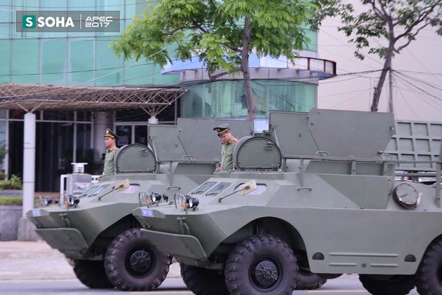 Ngắm dàn xe khủng của lực lượng công an, quân đội Việt Nam sẵn sàng bảo vệ APEC - Ảnh 10.
