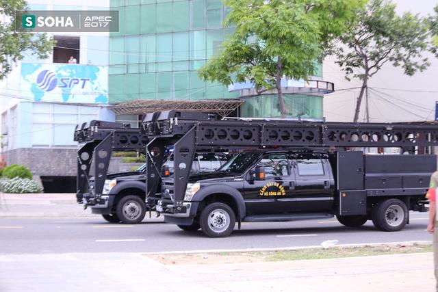 Ngắm dàn xe khủng của lực lượng công an, quân đội Việt Nam sẵn sàng bảo vệ APEC - Ảnh 11.