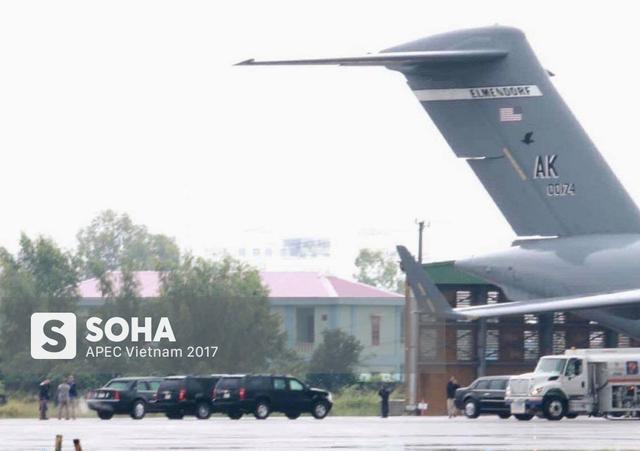 [NÓNG] Cadillac One The Beast cùng dàn xe phục vụ Tổng thống Trump tại APEC đổ bộ Đà Nẵng - Ảnh 3.