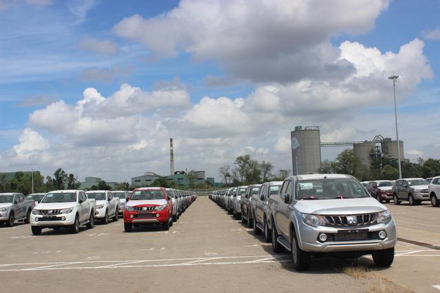 Theo thuế giảm, ô tô ùn ùn nhập khẩu qua cảng TP.HCM - Ảnh 5.