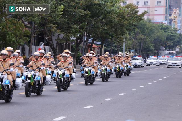 Ngắm dàn xe khủng của lực lượng công an, quân đội Việt Nam sẵn sàng bảo vệ APEC - Ảnh 5.
