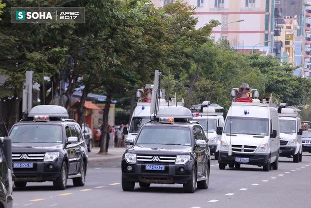 Ngắm dàn xe khủng của lực lượng công an, quân đội Việt Nam sẵn sàng bảo vệ APEC - Ảnh 6.