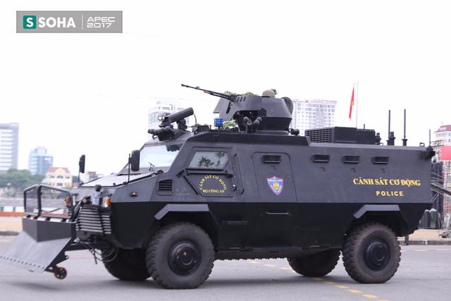 Ngắm dàn xe khủng của lực lượng công an, quân đội Việt Nam sẵn sàng bảo vệ APEC - Ảnh 7.