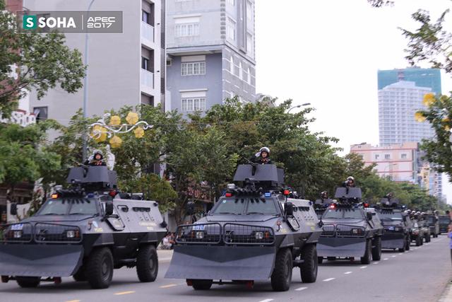Ngắm dàn xe khủng của lực lượng công an, quân đội Việt Nam sẵn sàng bảo vệ APEC - Ảnh 8.