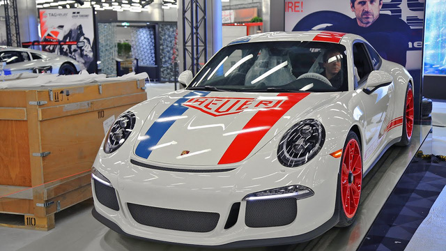 Làm quen với Porsche 911 R phiên bản đồng hồ TAG Heuer - Ảnh 10.