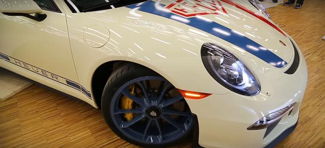 Làm quen với Porsche 911 R phiên bản đồng hồ TAG Heuer - Ảnh 9.