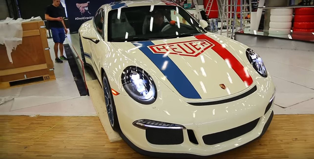 Làm quen với Porsche 911 R phiên bản đồng hồ TAG Heuer - Ảnh 7.