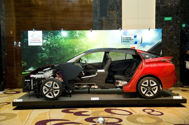Toyota rục rịch đưa xe xanh siêu tiết kiệm xăng Prius về Việt Nam, chờ ưu đãi thuế - Ảnh 1.