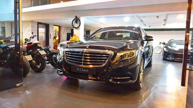Cường Đô-la tậu thêm xe sang Mercedes-Benz S400 trị giá 3,8 tỷ Đồng - Ảnh 2.