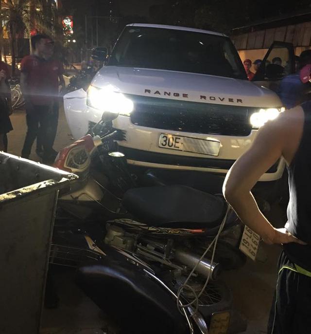 Hà Nội: Trộm xe Range Rover 8 tỷ Đồng gây tai nạn kinh hoàng trên phố - Ảnh 2.