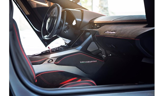 Đây là chiếc Lamborghini Centenario đầu tiên trên thế giới được rao bán - Ảnh 5.