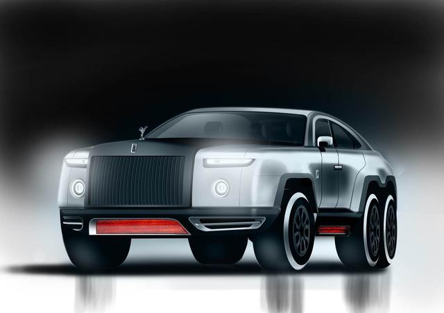 Rolls-Royce 6 bánh - SUV siêu sang địa hình trong mơ - Ảnh 2.