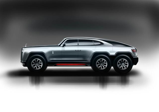 Rolls-Royce 6 bánh - SUV siêu sang địa hình trong mơ - Ảnh 1.
