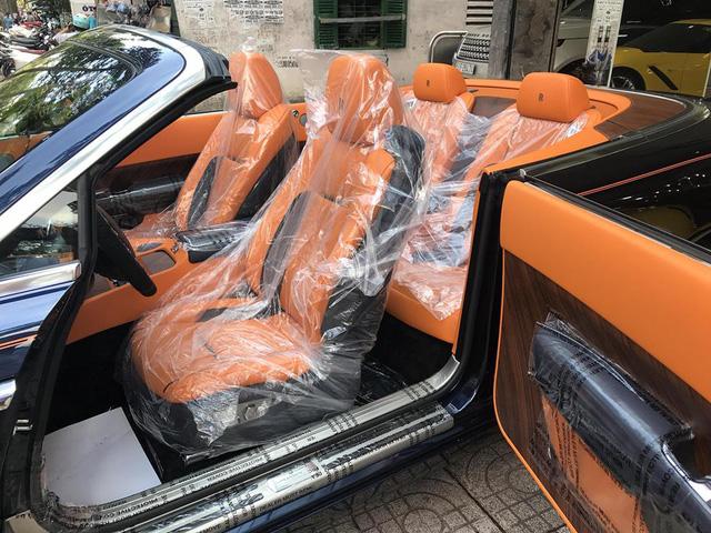 Rolls-Royce Dawn bất ngờ xuất hiện tại Sài thành - Ảnh 8.