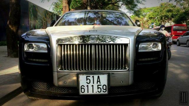 Rolls-Royce Ghost biển Sài thành xuất hiện tại Hải Phòng - Ảnh 1.