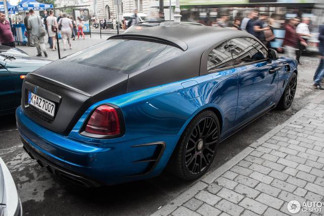 Rolls-Royce Wraith độ Mansory khoe dáng trên phố - Ảnh 6.