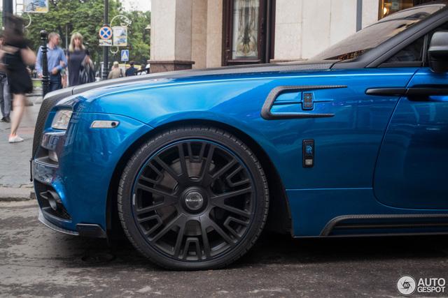 Rolls-Royce Wraith độ Mansory khoe dáng trên phố - Ảnh 8.