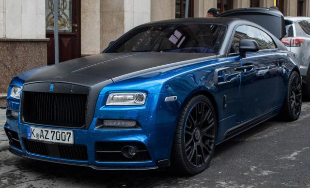 Rolls-Royce Wraith độ Mansory khoe dáng trên phố - Ảnh 3.