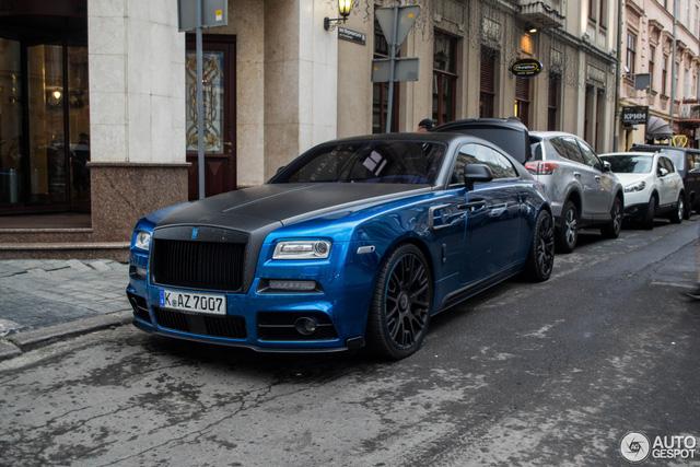 Rolls-Royce Wraith độ Mansory khoe dáng trên phố - Ảnh 1.