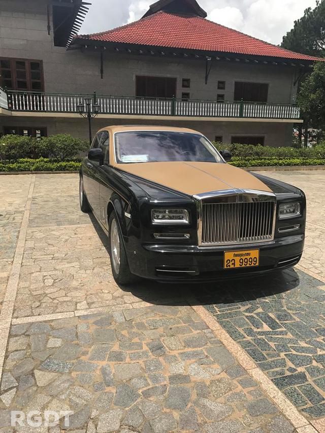 Rolls-Royce Phantom Series II màu độc, biển tứ quý 9 của Lào xuất hiện tại Đà Lạt - Ảnh 3.