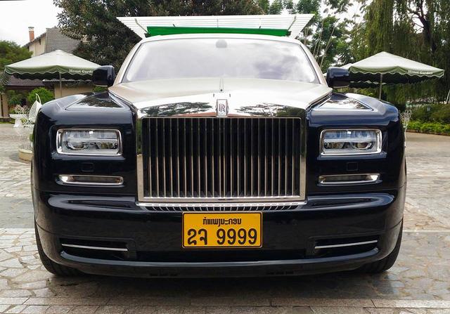 Rolls-Royce Phantom Series II màu độc, biển tứ quý 9 của Lào xuất hiện tại Đà Lạt - Ảnh 1.