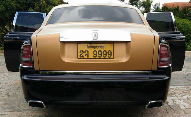 Rolls-Royce Phantom Series II màu độc, biển tứ quý 9 của Lào xuất hiện tại Đà Lạt - Ảnh 4.