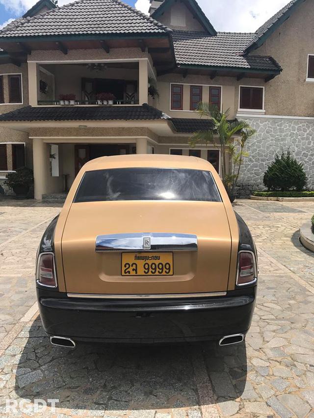 Rolls-Royce Phantom Series II màu độc, biển tứ quý 9 của Lào xuất hiện tại Đà Lạt - Ảnh 2.