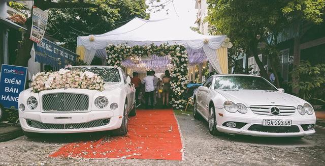 Hot girl Hải Phòng rước dâu bằng xe siêu sang Bentley Mulsanne - Ảnh 2.