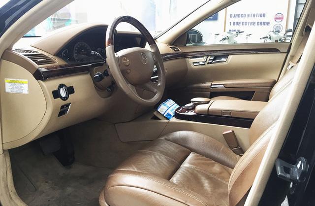 Mercedes S550 4Matic 10 năm tuổi giá chỉ còn 790 triệu đồng tại Hà Nội - Ảnh 11.