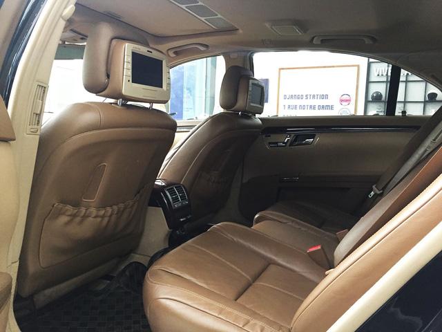 Mercedes S550 4Matic 10 năm tuổi giá chỉ còn 790 triệu đồng tại Hà Nội - Ảnh 9.