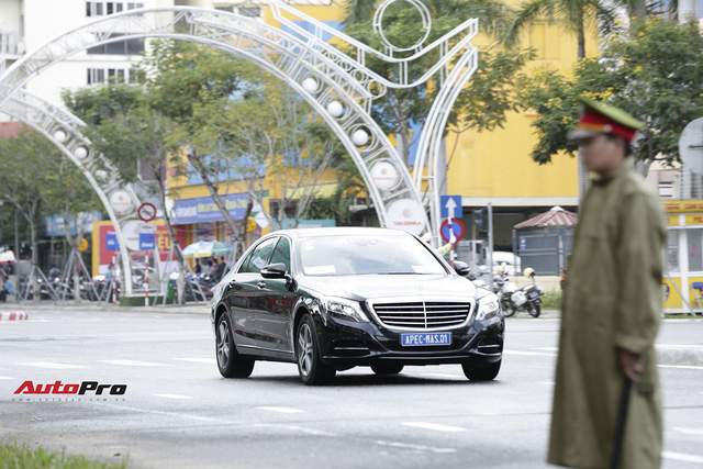 Cận cảnh đoàn xe Mercedes-Benz phục vụ nguyên thủ Malaysia và Việt Nam tại APEC 2017 - Ảnh 3.