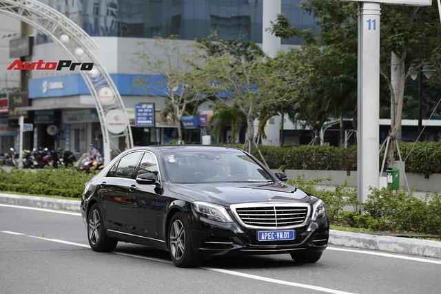 Cận cảnh đoàn xe Mercedes-Benz phục vụ nguyên thủ Malaysia và Việt Nam tại APEC 2017 - Ảnh 1.