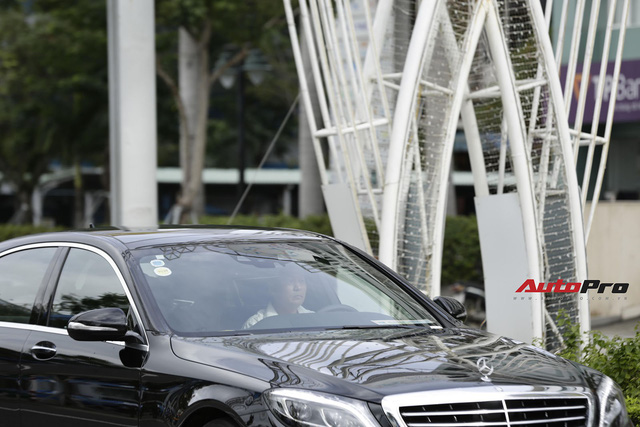 Cận cảnh đoàn xe Mercedes-Benz phục vụ nguyên thủ Malaysia và Việt Nam tại APEC 2017 - Ảnh 4.