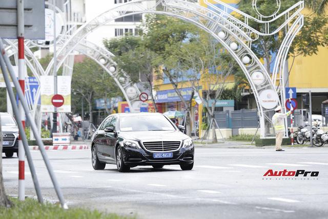Cận cảnh đoàn xe Mercedes-Benz phục vụ nguyên thủ Malaysia và Việt Nam tại APEC 2017 - Ảnh 2.