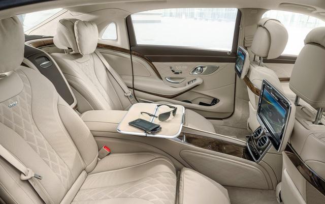 Xe Mercedes-Benz bọc thép của Tổng thống Hàn Quốc tại Đà Nẵng - Ảnh 4.