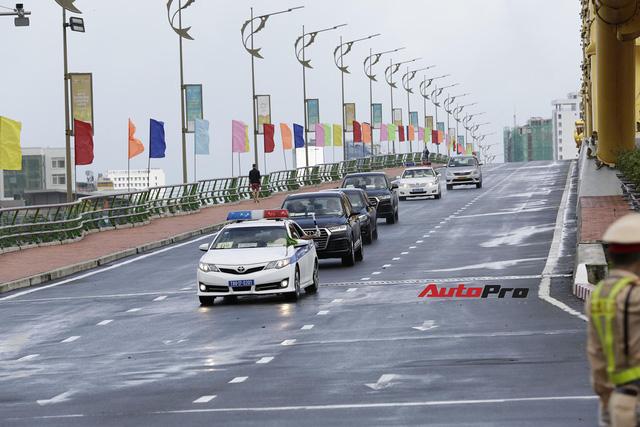 Xe Mercedes-Benz bọc thép của Tổng thống Hàn Quốc tại Đà Nẵng - Ảnh 3.