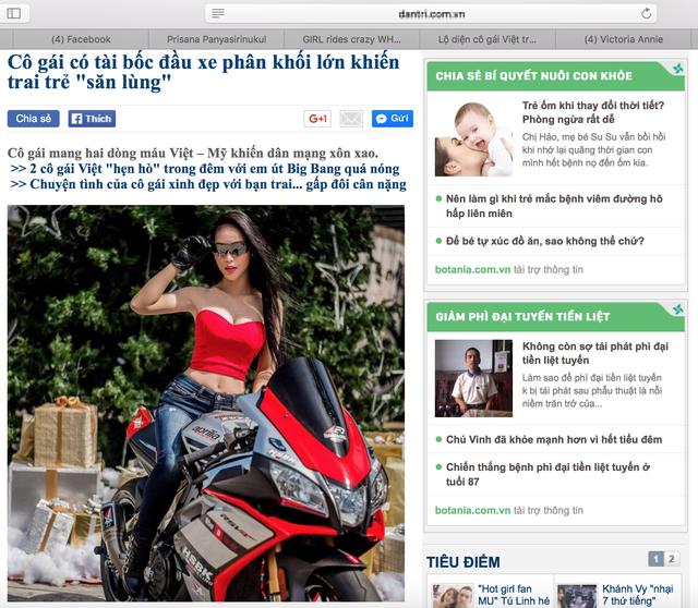 Sự thật đằng sau nữ biker Việt gây xôn xao cộng đồng mạng - ảnh 2