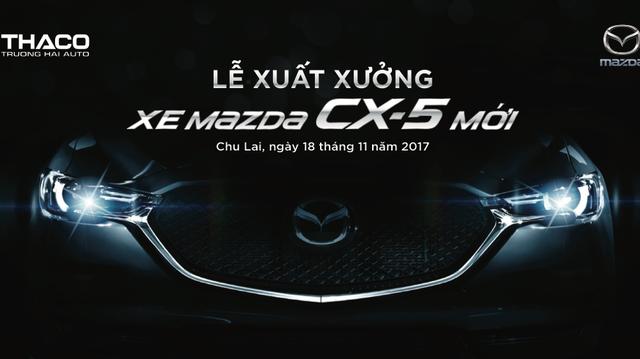 Sau Honda CR-V, Mazda CX-5 mới chốt ngày ra mắt Việt Nam - Ảnh 1.