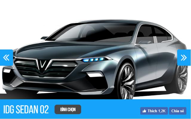 Thiết kế xe VINFAST của nhà thiết kế nào nào đang được người Việt chọn nhiều nhất sau 6 tiếng? - Ảnh 2.