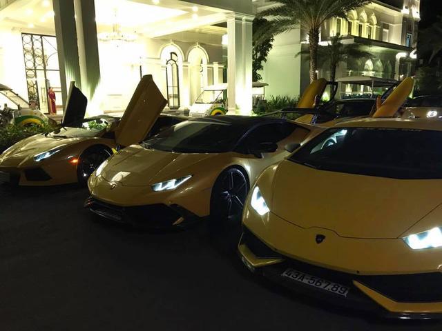 Cận cảnh bộ 3 siêu xe Lamborghini biển khủng tham gia hành trình phượt 1.000 km - Ảnh 4.
