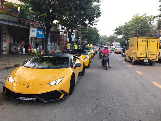 Cận cảnh bộ 3 siêu xe Lamborghini biển khủng tham gia hành trình phượt 1.000 km - Ảnh 7.