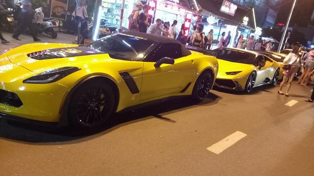 Sau Đà Nẵng, hàng chục siêu xe và xe thể thao tông xuyệt tông màu vàng di chuyển về Nha Trang - Ảnh 8.