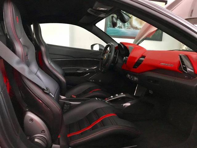 Cường Đô-la tậu thêm siêu xe Ferrari 488 GTB màu xám - Ảnh 5.
