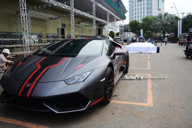 Soi kỹ chiếc Lamborghini Huracan độ cá tính của người chơi xe Sài thành - Ảnh 3.