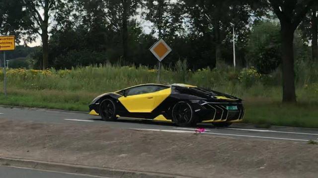 Đây chính là chiếc Lamborghini Centenario có bộ áo cá tính nhất thế giới - Ảnh 4.