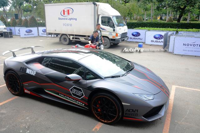 Soi kỹ chiếc Lamborghini Huracan độ cá tính của người chơi xe Sài thành - Ảnh 2.