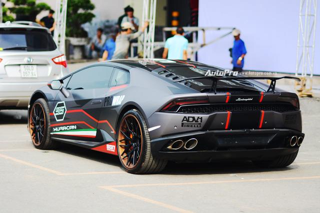 Soi kỹ chiếc Lamborghini Huracan độ cá tính của người chơi xe Sài thành - Ảnh 5.