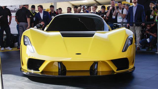 Hennessey Venom F5 trình làng, giới hạn 24 chiếc, giá bán 1,6 triệu USD - Ảnh 1.