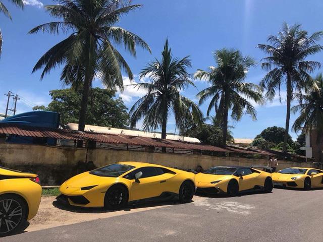 Cận cảnh bộ 3 siêu xe Lamborghini biển khủng tham gia hành trình phượt 1.000 km - Ảnh 11.